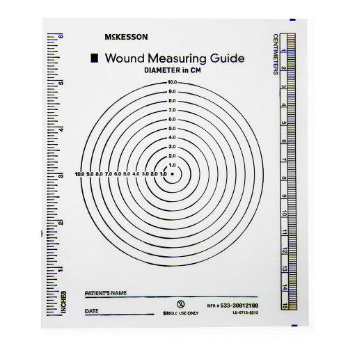 McKesson Wound Measuring Guide McKesson Brand