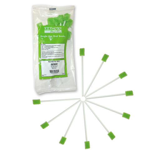 Toothette Oral Swabstick Sage Products 6072