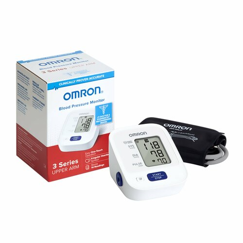 Omron 3 Series Digital Blood Pressure Monitoring Unit Omron Healthcare BP7100