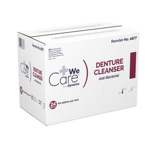 We Care from Dynarex Denture Cleaner Dynarex 4877