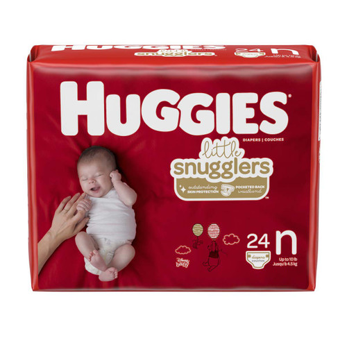 Huggies Little Snugglers Diaper Kimberly Clark 49695