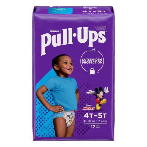 Pull-Ups Learning Designs for Boys Training Pants Kimberly Clark 51355