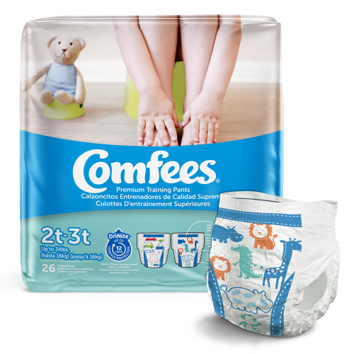 Comfees Training Pants Attends Healthcare Products CMF-B2