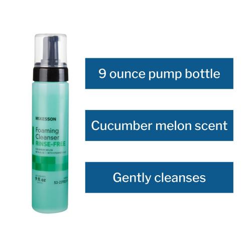 McKesson Rinse-Free Body Wash McKesson Brand 53-22952-9