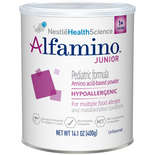 Alfamino Junior Amino Acid Based Pediatric Formula Nestle Healthcare Nutrition 7613034787965