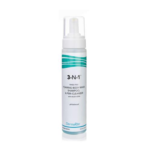 DermaRite 3-N-1 Rinse-Free Body Wash DermaRite Industries 190