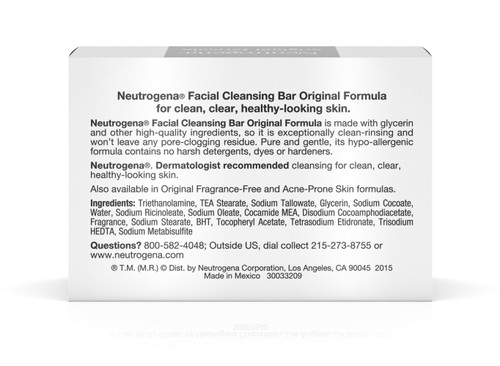 Neutrogena Facial Cleanser Johnson & Johnson Consumer 10070501010102