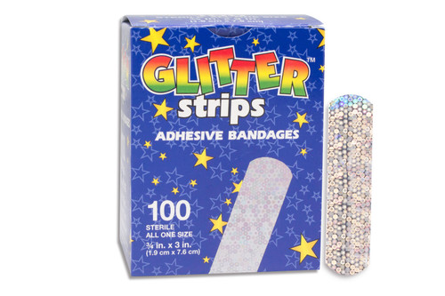 Glitter Stat Strip Adhesive Strip Dukal