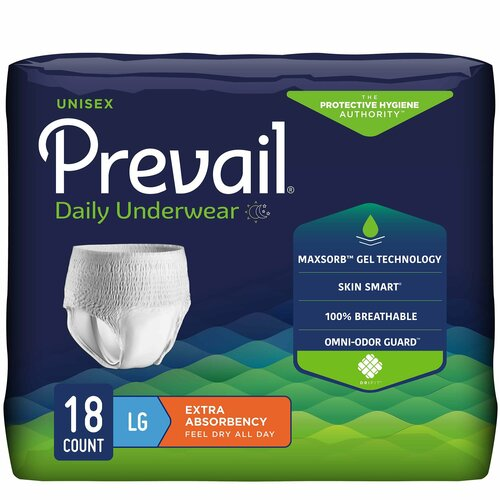 Prevail Daily Absorbent Underwear First Quality PV-513
