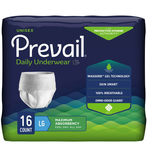 Prevail Absorbent Underwear First Quality PVS-513