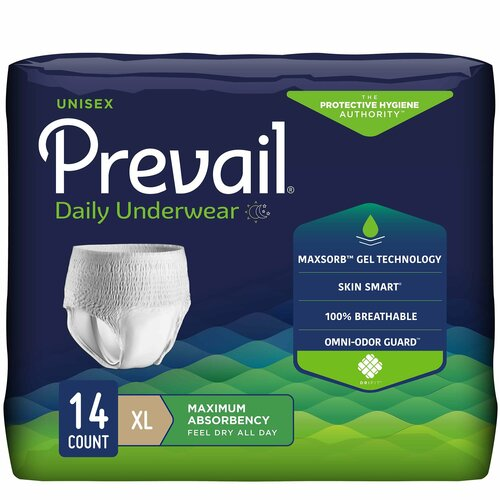 Prevail Absorbent Underwear First Quality PVS-514