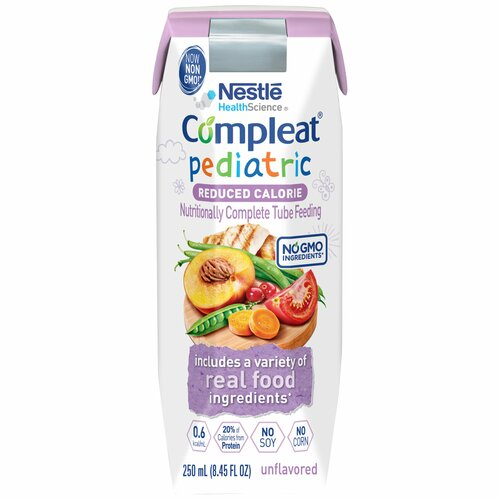Compleat Pediatric Reduced Calorie Pediatric Tube Feeding Formula Nestle Healthcare Nutrition 10043900380749