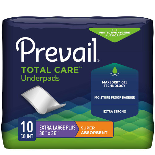 Prevail Total Care Underpad First Quality PV-410