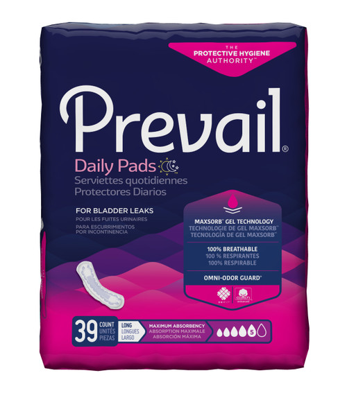 Prevail Daily Bladder Control Pad First Quality PV-915/1