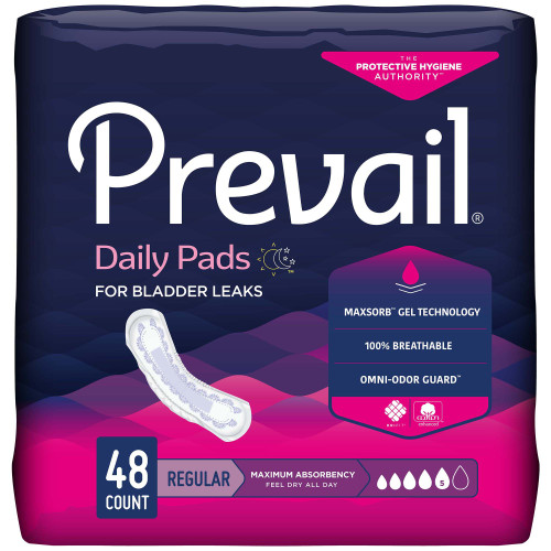 Prevail Daily Pads Bladder Control Pad First Quality PV-916/1
