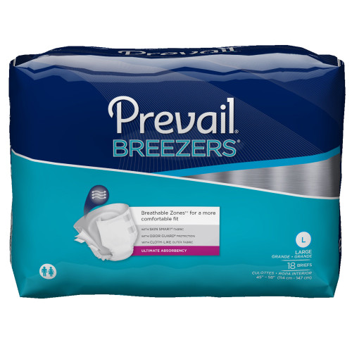 Prevail Breezers Incontinence Brief First Quality PVB-013/2
