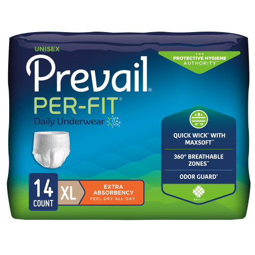 Prevail Per-Fit Absorbent Underwear First Quality PF-514