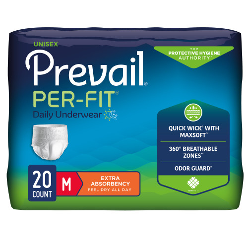 Prevail Per-Fit Absorbent Underwear First Quality PF-51