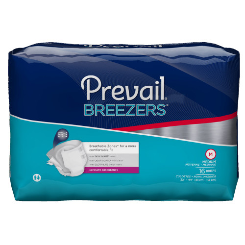 Prevail Breezers Incontinence Brief First Quality PVB-012/2