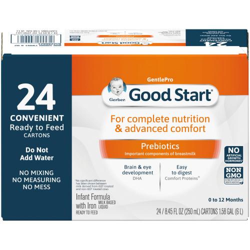 Gerber Good Start Gentle NON-GMO Infant Formula Nestle Healthcare Nutrition 5000079991