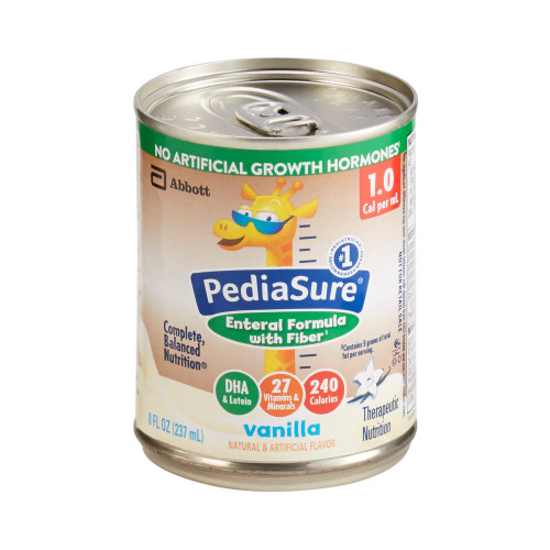 PediaSure Enteral with Fiber Pediatric Oral Supplement / Tube Feeding Formula Abbott Nutrition