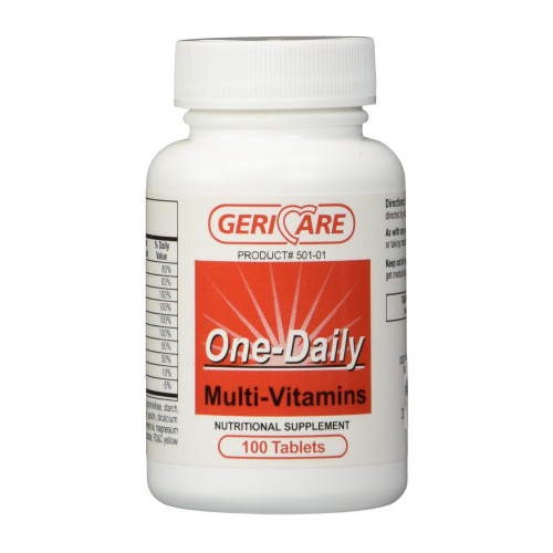 Geri-Care Multivitamin Supplement McKesson Brand 501-10-GCP