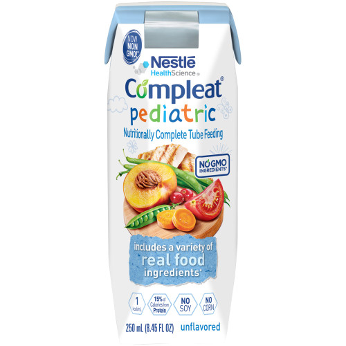 Compleat Pediatric Pediatric Tube Feeding Formula Nestle Healthcare Nutrition 10043900142408