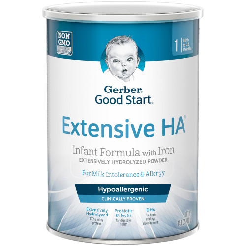 Gerber Extensive HA Infant Formula Nestle Healthcare Nutrition 5000048519