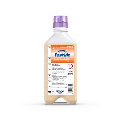 PediaSure Peptide 1.0 Cal Pediatric Oral Supplement / Tube Feeding Formula Abbott Nutrition 67415