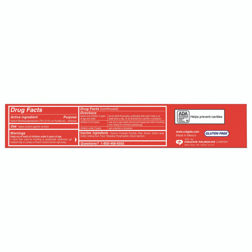 Colgate Cavity Protection Toothpaste Colgate 151406