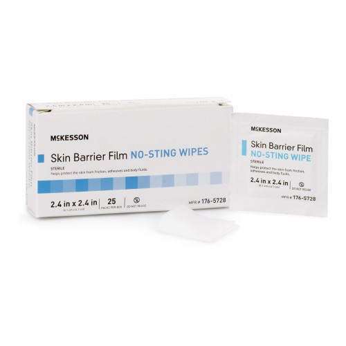 McKesson No Sting Skin Barrier Wipe McKesson Brand 176-5728