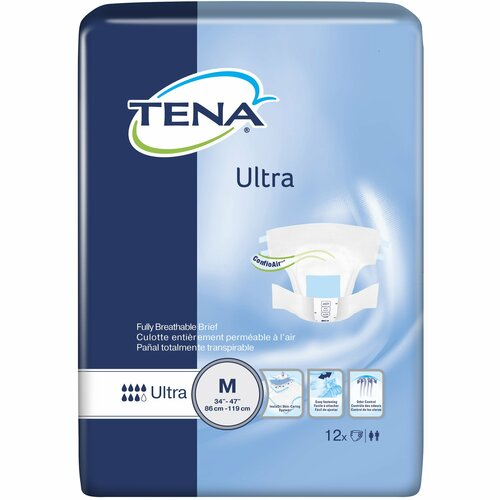 TENA Ultra Incontinence Brief Essity HMS North America Inc 67252