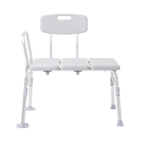 McKesson Knocked Down Bath Transfer Bench McKesson Brand 146-12011KD-2