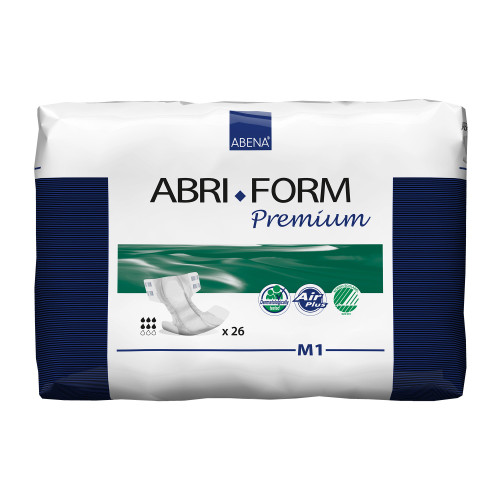 Abena Abri-Form Premium M1 Incontinence Brief Abena North America 43061