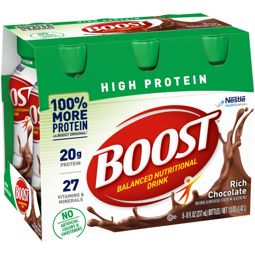 Boost High Protein Oral Supplement Nestle Healthcare Nutrition