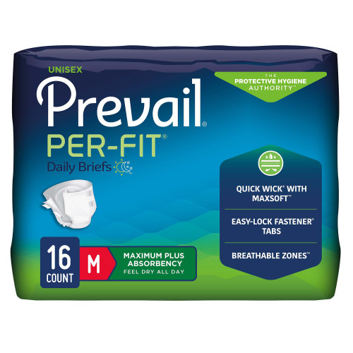 Prevail Per-Fit Incontinence Brief First Quality PF-012/1