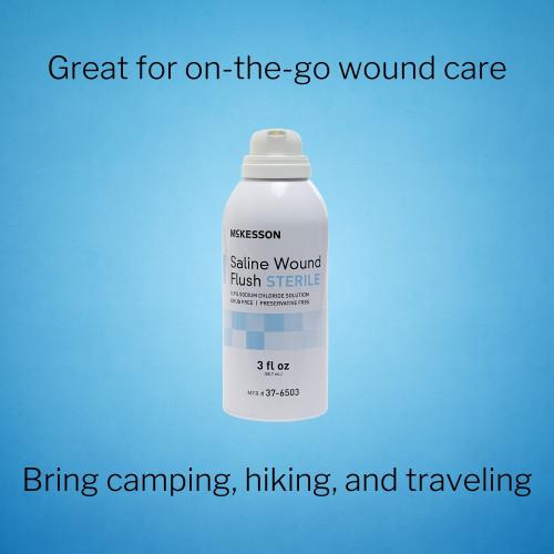 McKesson Saline Wound Flush McKesson Brand 37-6503
