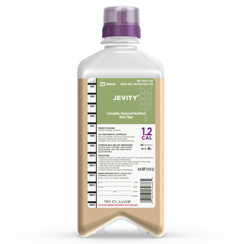 Jevity 1.2 Cal Tube Feeding Formula Abbott Nutrition