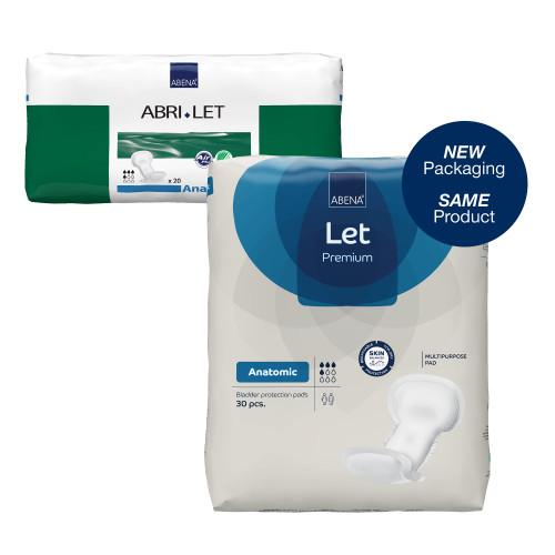 Abena Abri-Let Anatomic Incontinence Liner Abena North America 300215