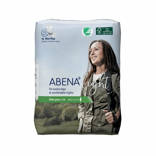 Abena Light Mini Plus Bladder Control Pad Abena North America 1000017156