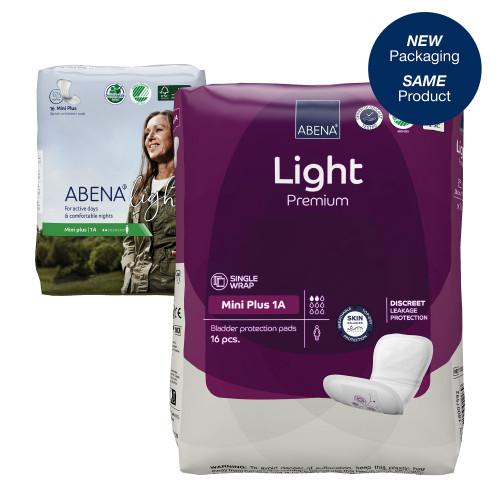 Abena Light Mini Plus Bladder Control Pad Abena North America 1000017156