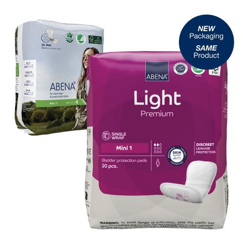 Abena Light Mini Bladder Control Pad Abena North America 1000017155