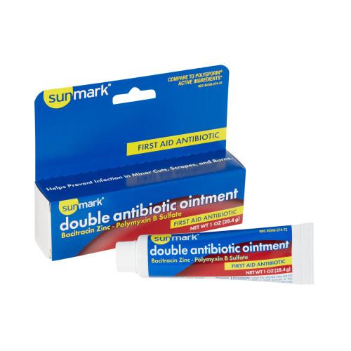 sunmark First Aid Antibiotic McKesson Brand 49348027472