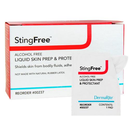 StingFree Skin Barrier Wipe DermaRite Industries 237