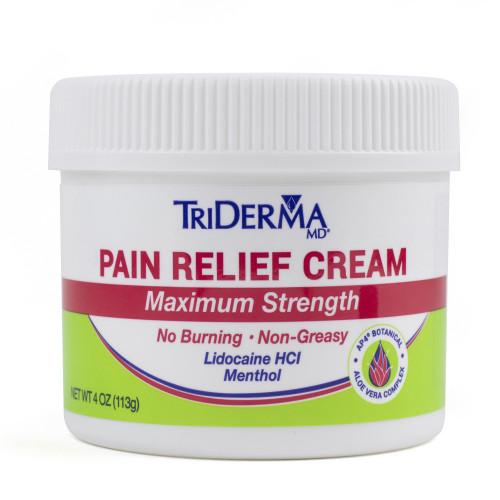 TriDerma MD Topical Pain Relief Genuine Virgin Aloe Corp dba Triderma 73041