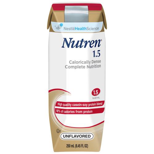 Nutren 1.5 Tube Feeding Formula Nestle Healthcare Nutrition 00798716162203
