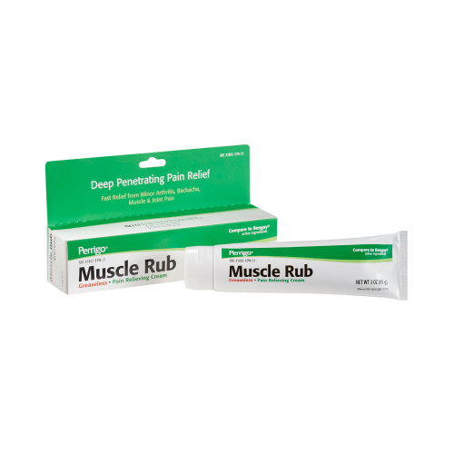 Muscle Rub Topical Pain Relief Clay Park Laboratories 45802017453