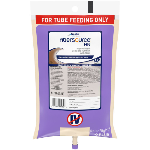 Fibersource HN Tube Feeding Formula Nestle Healthcare Nutrition