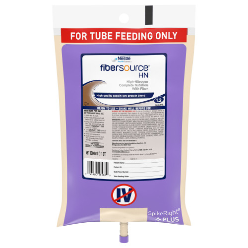 Fibersource HN Tube Feeding Formula Nestle Healthcare Nutrition 10043900185887
