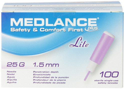 Medlance Plus Lancet Cambridge Sensors USA 925-25